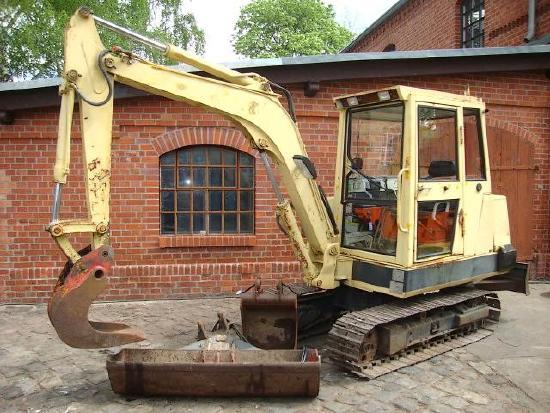 Kubota KH 90 Minibagger excavator Hammerhydraulik 3,5t