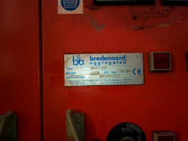 Agregat prądotwórczy - Pozostałe BREDENOORD 360 kVA