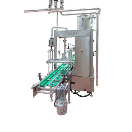 MVS Machinery Jam Filling and Capping Machine