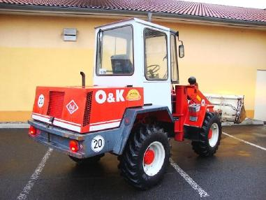 Chargeur sur pneus - O&K L5 Radlader 4,5t wheelloader 5800h 4in1 Klappschaufel