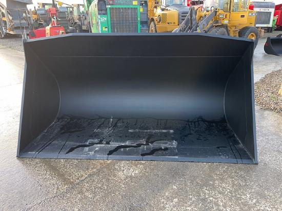 Pladdet Wheel loader bucket 290cm 3612ltr Volvo/Lundberg connection