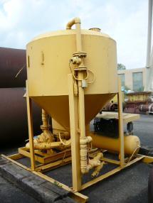 Otro - Cuoghi Bentonite mixing plant / Bentonitmischanlage