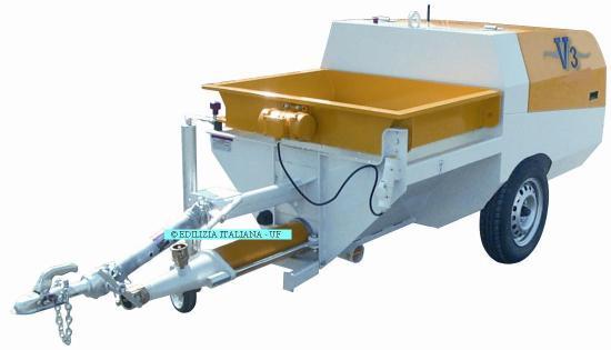 EDILIZIA ITALIANA-UF Shotcrete pump / Pompa Spritz Beton / Betonspuitpomp - V3 Diesel