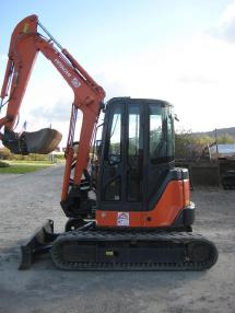 Mini excavator - Hitachi ZX40U-2