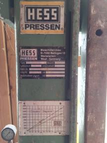 Пресс - Hess Economic