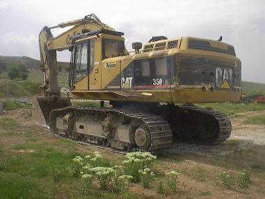 Tracked excavator - Caterpillar 350 LME