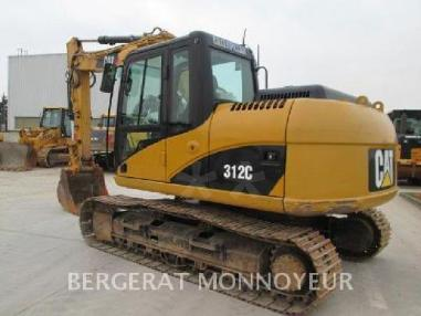 Rupsgraafmachine - Caterpillar 312C
