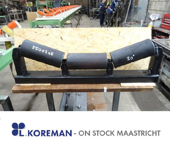 BB 650mm Idlers with Rolls  for  Belt 650mm