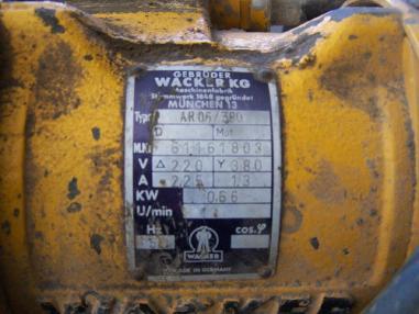 Вибрационна плоча - Wacker AR 06/308