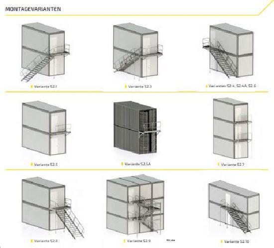 Mauderer Containertreppen
