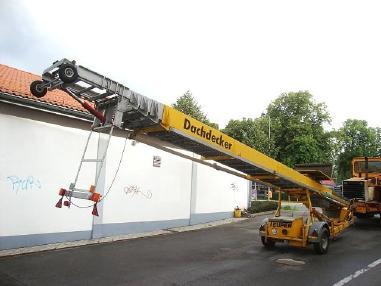 屋顶升降机 - Teupen Andere Teupen 41VH/HK Schrägaufzug Dachdecker Möbellift