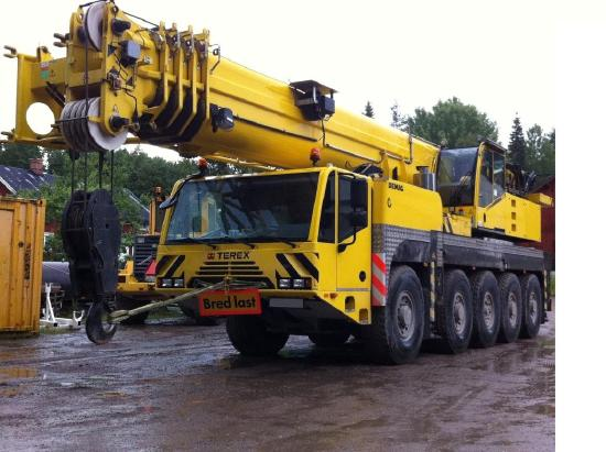 Terex-Demag AC 100  50,2 m +17,1 two hooks, two winches