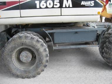 Mini excavator - Terex-Atlas 1605M
