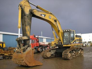 Tracked excavator - Caterpillar 345BLME _ 2005