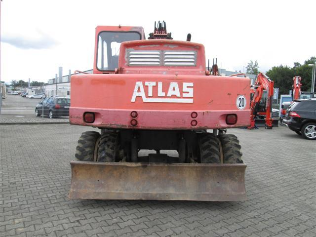 Mobile excavator - Atlas 1404