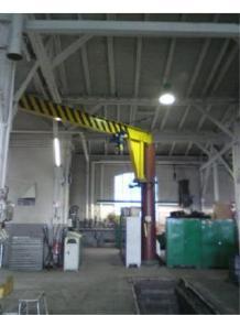 Siirrettävä nosturi - Muut Säulenschwenkkran