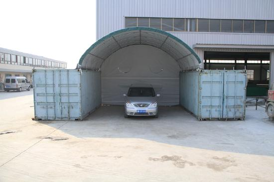 Industrial shelter tent Model: C2020, new, W 6m* L 9 m*H 2 m