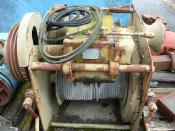 Delmag Gear box / winch / Getriebe / Winden