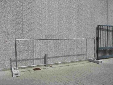 Työmaa-aita - SFS SFS 1,20m x 3,47m neu