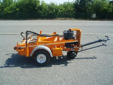 Asphalt spraying machine - Ebeling ST 300 SF