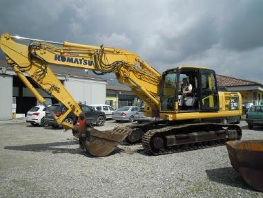 Escavatore cingolato - Komatsu PC 210 NLC-8