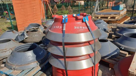Pegson Maxtrak 1000 wear parts concave mantle 22%Mn