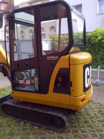 mini bager - Caterpillar 301.6C
