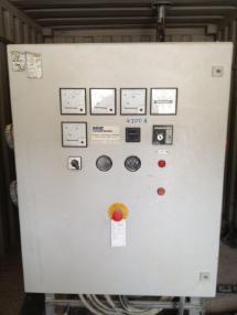 Agregat prądotwórczy - Volvo Power - Station  mit Diesel- Drehstrom - Aggregat für Inselbetrieb max. Dauerleistung /280 kVA / 224 kW