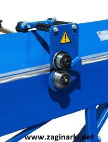Sac işleme makinesi - Diğer Rollenschere max. 0,8 mm