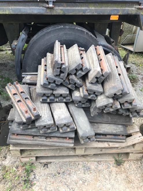 Doosan P171-500 Kettenpads Gummipads Pads 500 mm