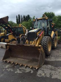 Backhoe loader - Caterpillar 444E