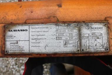 विविध - Auramo hydraulische Ballenklammer