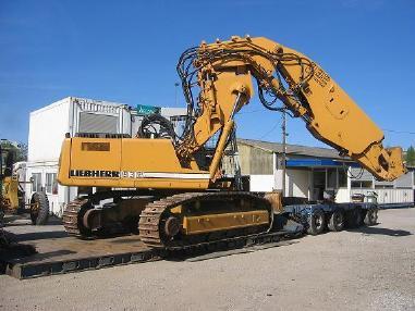 Macchina per costruzione gallerie - Liebherr R932 Litronic Tunnelbagger