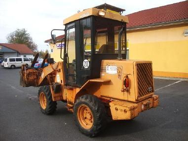 轮式装载机 - Case Radlader 21B wheelloader 3,65t 4x4 Palettengabel
