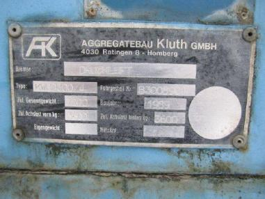 Power system - Kluth KWBD300/4