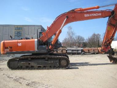 Tracked excavator - Hitachi ZX350LCN-3