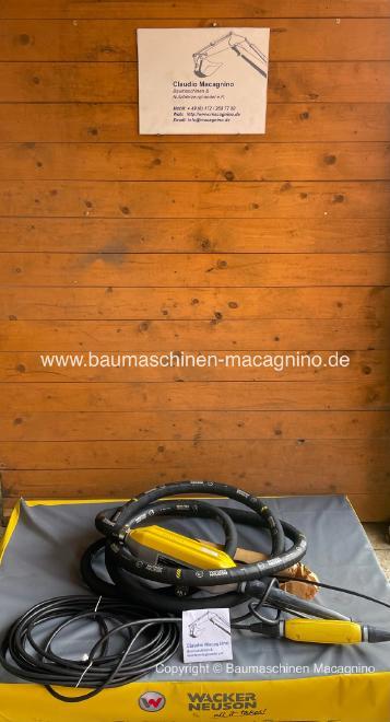 Wacker Neuson IRFU 58/230/5 Hochfrequenz Innenrüttler NEU