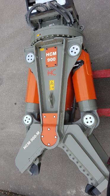 HCM 900-M mit Zentralschmierung