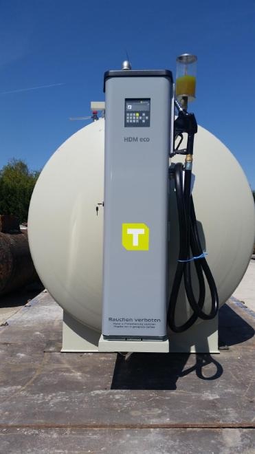 Dieseltank 10.000 Liter mit Datenerfassung