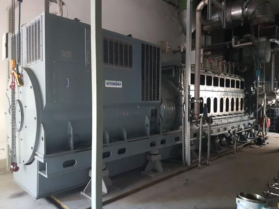 MAN ECO.TI 2.6 2,7 MW VEGETABLE OIL POWER PLANT