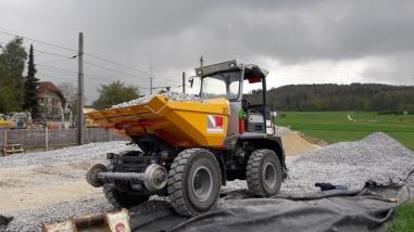 Maquinaria de construcción de vías - Bergmann 2060+
