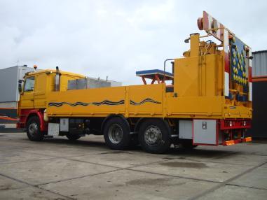 Yol işaretleme makinesi - Scania 380 Thermoplastic Pre Melt truck 6x2