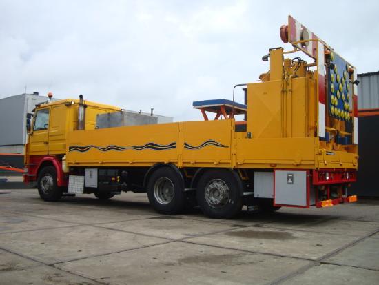 Scania 380 Thermoplastic Pre Melt truck 6x2