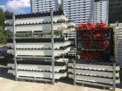 528 m² - Peri Sky Deck mit PEP 20-300