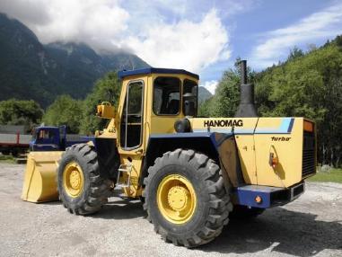 轮式装载机 - Hanomag 44D