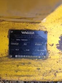 Compactadora de residuos - Wacker DPU 7060SC