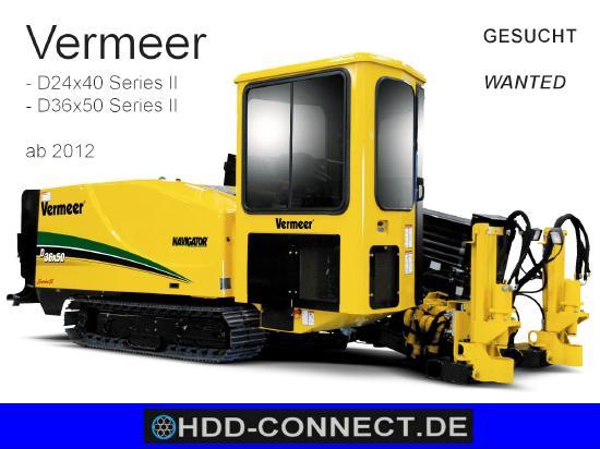 Vermeer D24x40 Series II, D36x50 Series II