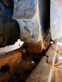 Încărcător pe şenile - Liebherr Laderaupe LR 621C 15,4to. 8000h 1,7m³
