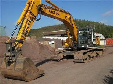 Tracked excavator - Hyundai R290NLC-7A
