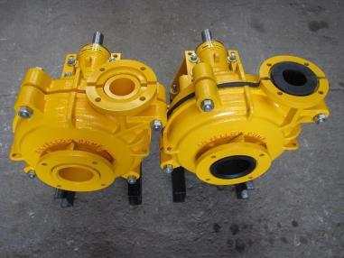 Zařízení na praní štěrku - Warman Gomma - Yellow Pump.